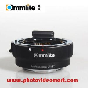 Commlite Canon EF Lens to Sony E-Mount Camera Mount Adapter