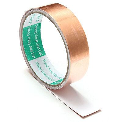 1x10ft Emi Copper Foil Shielding Tape Conductive Self Adhesive Heat Insulation