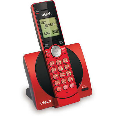 VTech 1-Handset Cordless Phone Digital Answering System ID Waiting Home Office