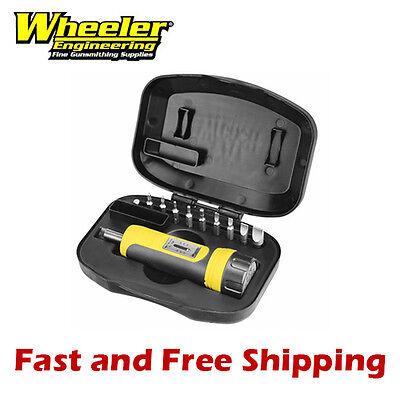 Wheeler Engineering FAT Firearm Accurizing Torque Wrench Kit 10 Bit Set w/ Case