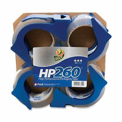 Duck Brand Hp260 Packaging Tape 1.88 In. X 60 Yds. Clear 4-pack With Dispen