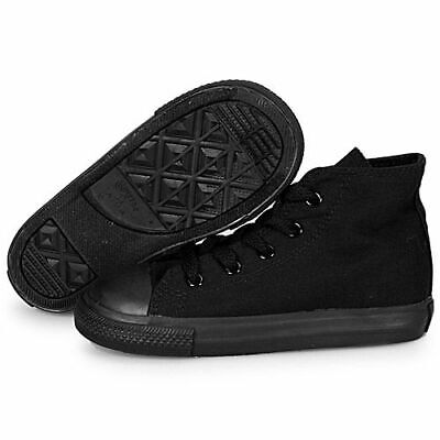 Converse For Toddler (CONVERSE CHUCK TAYLOR ALL BLACK HIGH TOP CANVAS FOR BABY AND TODDLERS)