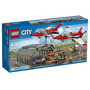LEGO CITY Airport Air Show 60103 NEW SEALD BOX FIRM