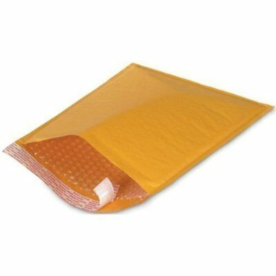 Kraft Bubble Mailers Envelopes Bags #0 #00 #000 #1 #2 #3 #4 #5 #6 #7 100 to 2000 ()