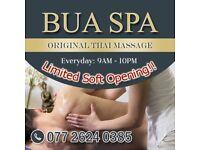 BUA SPA - Original Thai Massage (Limited Offer!)