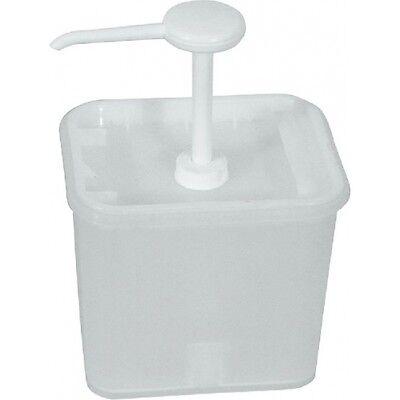 Ketchupspender Dual weiß Kunststoff