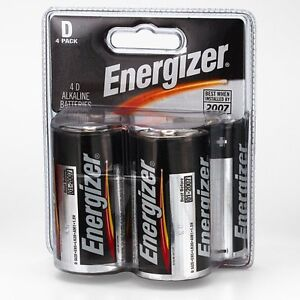 4 Energizer Batteries NEW - NEVER USED