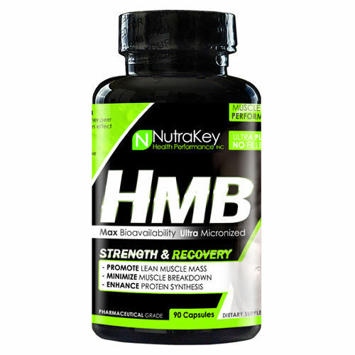 HMB Muscle Repair for Strength and Recovery Supplement