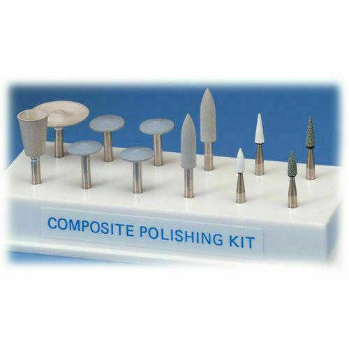 Shofu Dental Composite Polishing CA Kit - Autoclavable Bur Block Shofu - New!