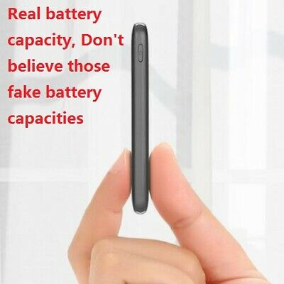 8000mAh slim Power Bank Portable USB Battery Charger IPhone Samsung tablet phone