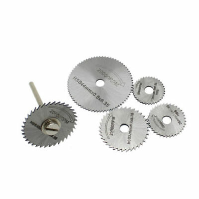 New 6pc HSS Circular Saw blades Set for Wood Aluminum Cutting Disc