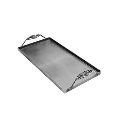 Steel Griddle - Covers 2 Burners