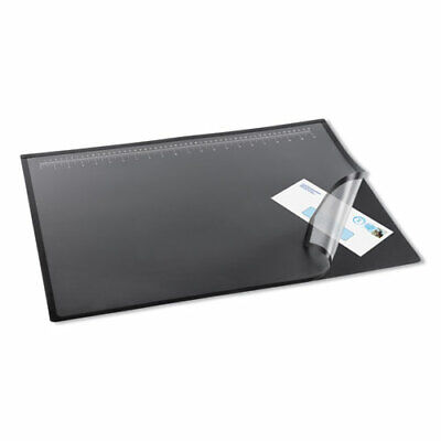 Lift-top Pad Desktop Organizer With Clear Overlay 24 X 19 Black