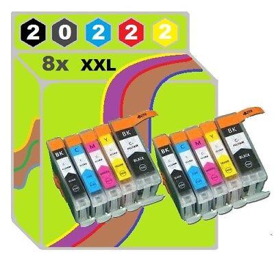 8 Tinte für Canon PIXMA IX4000 IX5000 ip3300 ip3500 MP510 MP520 MP600 MP810 CHIP online kaufen