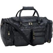Mens Leather Overnight Bag