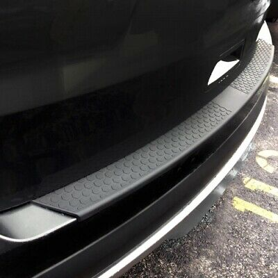 All Black Universal Rubber Stick On Bumper Protector With 3M Adhesive Tape