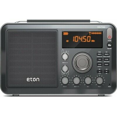 Eton Elite Field AM FM Shortwave Desktop Radio with Bluetoot