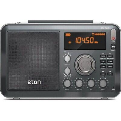 Eton Elite Field AM FM Shortwave Desktop Radio with Bluetoot