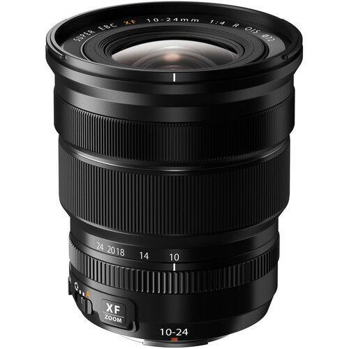 Fujifilm Fujinon XF 10-24mm f/4 R OIS Lens for Most Fujifilm X-Series Digital Cameras Black 16412188