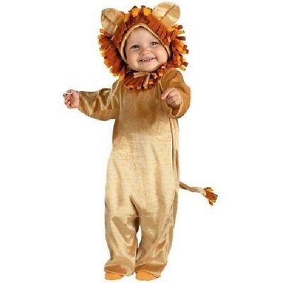 BOYS or GIRLS 6-12 months CUDDLY LION CUB COSTUME baby infant toddler - Cuddly Lion Costume