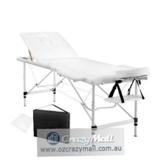 High Quality Portable Aluminium 60cm Wide Foldable Massage Table