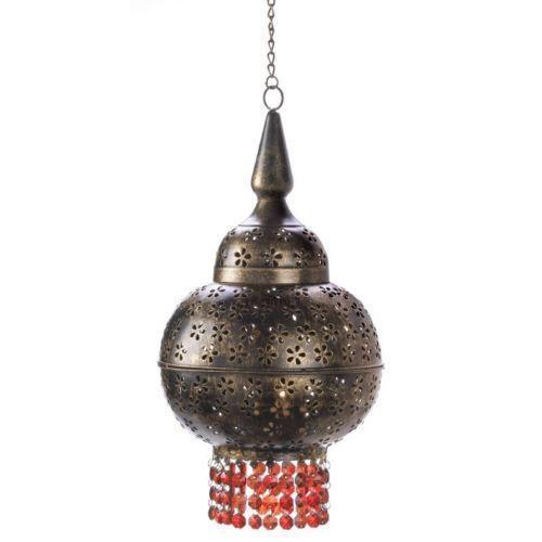 beaded hanging lamp ebay