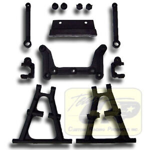 BLACK NYLON SUSPENSION PARTS Futaba FX10 Tamiya Striker Buggy RC Team CRP 1632