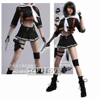 1/6 Scale Female Custom Girl School Uniform Outfit Set suit Agent Sucker Punch - Sucker Punch Outfits
