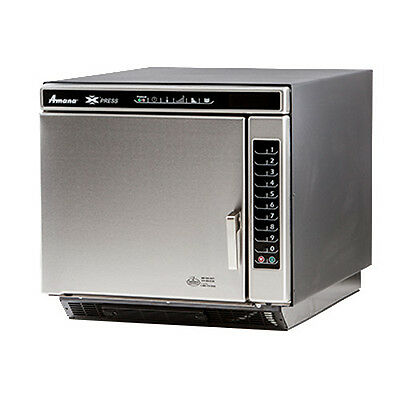 Amana Ace19v Ventless Commercial Convection-microwave Combi Oven W Touch Pad
