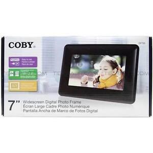 "Coby 7"" Digital Photo Frame"