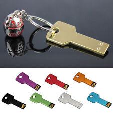 4GB 8GB 32GB 64GB Key Pen Drive memoria flash USB Memory Metal llavero U disco