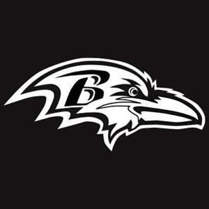 Original Ravens Logo >> Ravens Decal | eBay