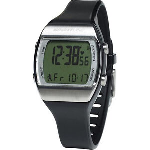 Sportline Solo 925 Men's Heart Rate Watch Monitor Sport Wrist Black Fitness