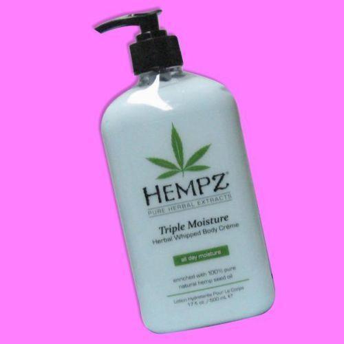 Tanning Bed Hempz Moisturizer