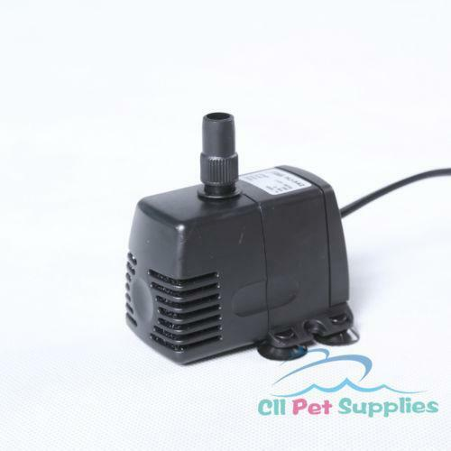 Submersible waterfall pump ebay for Pond waterfall pump