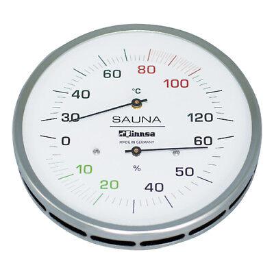 Saunahygrotherm Hygrotherm Measurement Air Temperature Luminous Moisture 130mm/
