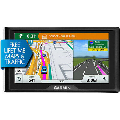 Garmin Drive 60LMT Advanced GPS 010-01533-06 with Lifetime Map/Traffic, US+CAN