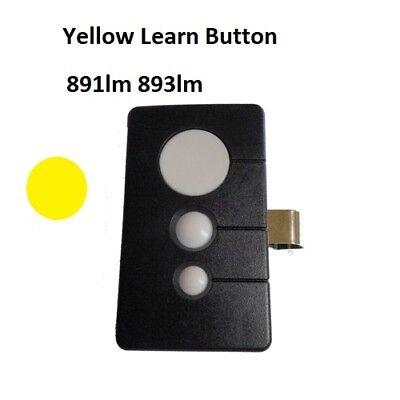 LiftMaster Chamberlain 891LM COMP Remote Garage Visor 3 Button MyQ Sec+ 2