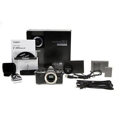 Olympus OM-D E-M5 Mark II Limited Edition Mirrorless Micro 4/3rds Digital Camera