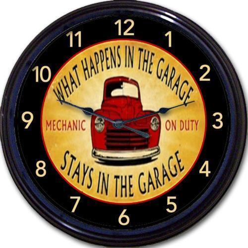 Garage Clock Ebay