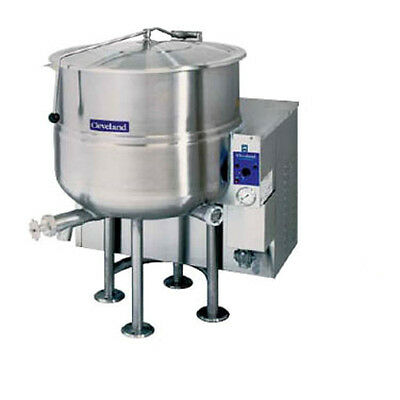 Cleveland Kgl100 100 Gallon Capacity Gas Stationary Kettle