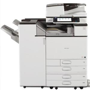 Ricoh MP C5503 Color Laser Multifunction Printer Photocopier 1 Year Limited Warranty BUY RENT LEASEColour office Copiers