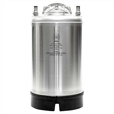A.e.b. 3 Gallon Stainless Steel Ball-lock Keg 29750ps Home Brew Made In Italy
