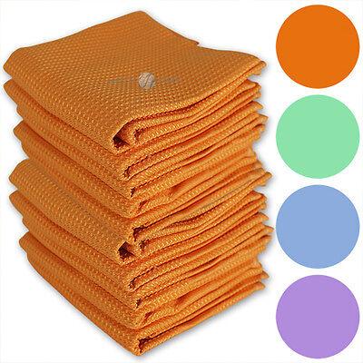 10 Stück Mikrofasertücher Microfaster Putztuch Tuch Autotuch Poliertuch Fenster