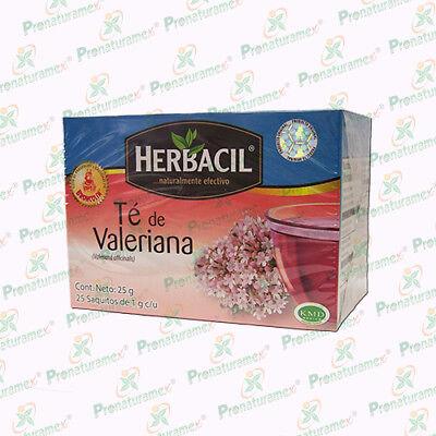 Therbal Valerian Root Tea 25 Bags Te De Valeriana 100  Natural