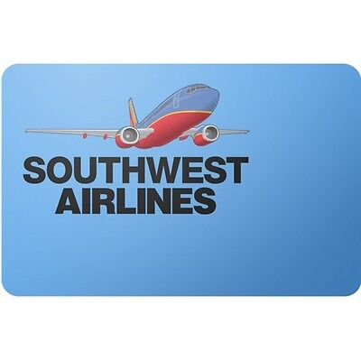 Southwest Airline $100 Gift Card Only $97! Free Shipping, Pre-Owned Paper Card