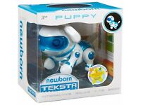 Teksta NEWBORN Robotic Puppy - Interactive Pet - WALKS, SITS & BEGS - NEW