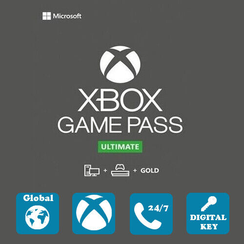 Xbox Game Pass Ultimate 14 Days Global Key (new Account)