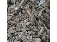 Clean hardcore rubble including delivery. Up to 5 tonne available.