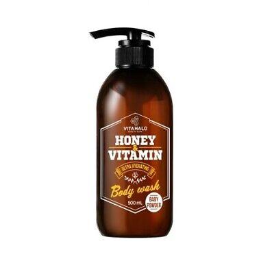 VITAHALO Honey&Vitamin Body Wash Baby Power 500ml Moisturizer Smoothing K beauty